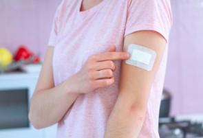 Adhesive wound plaster